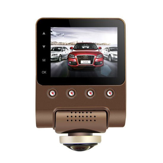 X360 Car DVR Dash Camera 1080P 360 Degree View Angle Dashcam Video Recorder Black Box with WiFi pictures & photos