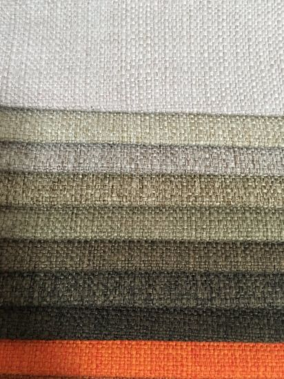 100%Polyester Plain Woven Fabric for Sofa Popular in Europe and America  Markets