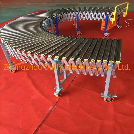 Electricity Motor Driven Flexible Roller Conveyor