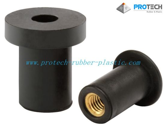 Rubber/Brass Nuts