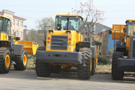 6ton Hot Sale Rock Bucket Large Wheel Loader pictures & photos
