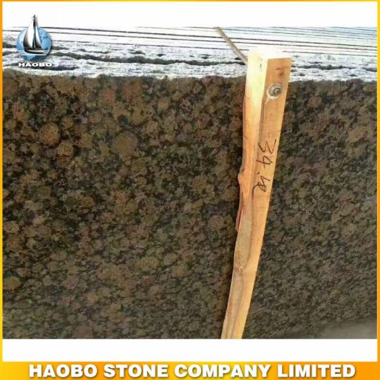 High Quality Slabs for Wholesale Baltic Brown Granite Tiles pictures & photos