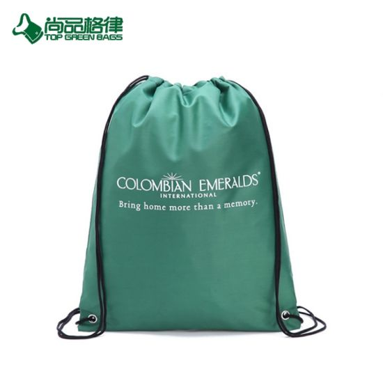Polyester Duffel Bag Drawstring Backpack Draw String Pack From China ... 97642e972fb9f