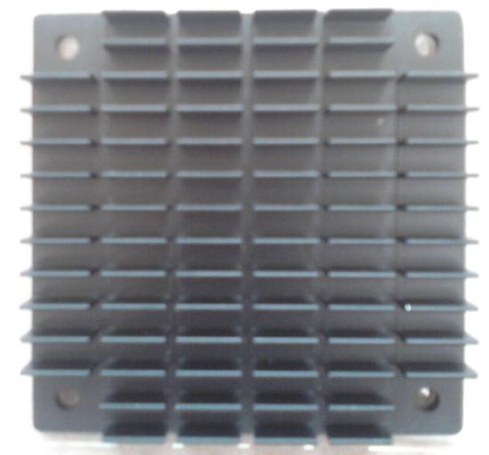 Black Anodized BGA Heat Sink with Cross Cut Fins pictures & photos