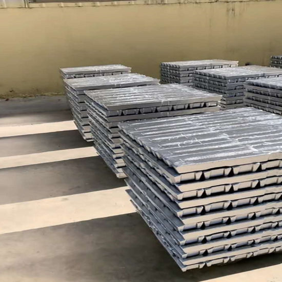 Aluminium ingot 1kg 99.9/% pure aluminium