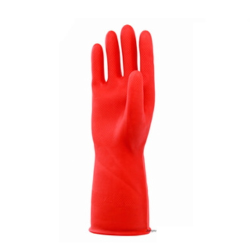 Red Color Industrial Latex Glove