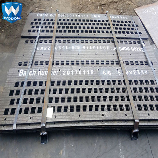 Mining Service High Wear Resistant Abrasion Steel Plate Vibrating Screen pictures & photos