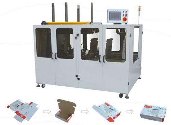 China Automatic Box Making Machine with Omron PLC - China Carton