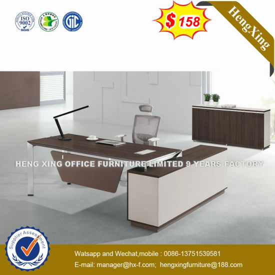 Straight Shape Steel Leg CIF Trade Executive Desk (UL-172) pictures & photos