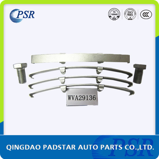 Wva29087 China Manufacturer Wholesales Top Grade Brake Pad Repair Kits for Mercedes-Benz pictures & photos