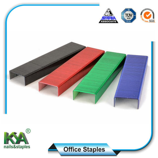Std26/6 Copper Office Staples for Office Supply pictures & photos