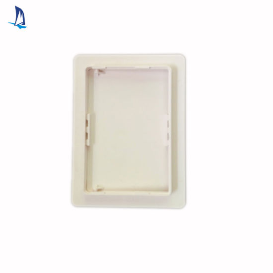 x 14 In. Wall Ceiling Access Panel Plastic Door Snap Hinged Square White 14 In