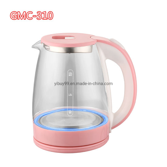 1.8L Capacity of Blue LED Display Electric Glass Kettle Fast Water Boiling Tea Pot Home Kitchen Appliance