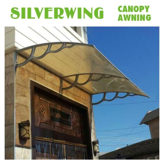 DIY Plastic Frame For Outdoor Canopy Polycarbonate Balcony Awning Design YY H
