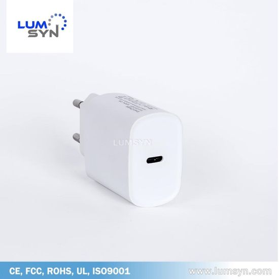 Universal 18W Pd Charger for Europe