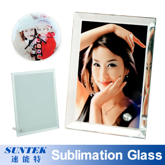 China Various Shapes Sublimation Photo Frame Blank Crystal Glass ...
