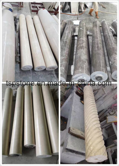 Solid Roman Stone Column for Decoration pictures & photos
