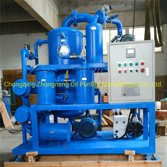 Double Stage Vacuum Transformer Oil Filtration Machine Factory Supply Directly