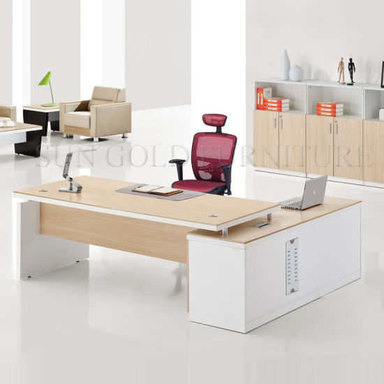 White Steel Foot of Executive Office Desk (SZ-ODL308) pictures & photos