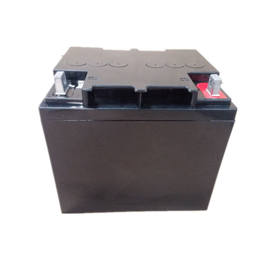 AGM Deep Cycle UPS Batteries 12V38ah with Round Button Terminal pictures & photos