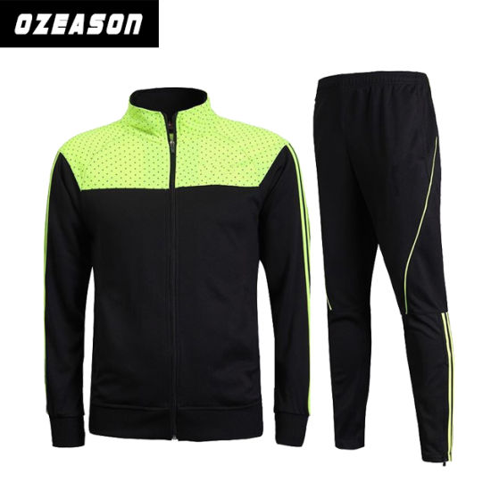 Fashion Designs Long Sleeve Training Track Suits with Custom Logo (TJ023)  pictures   photos 4462bb3e5