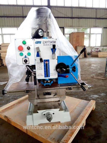 Bench Type Zay7045m Milling and Drilling Machine with Swivel Table pictures & photos