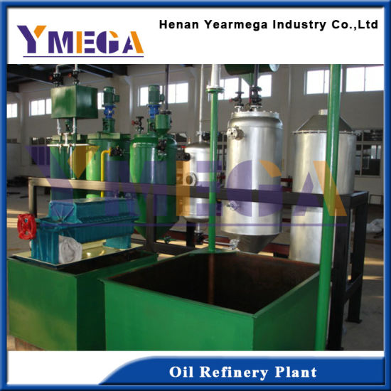Qualified High Efficient Food Grade Peanut Oil Refinery Machine pictures & photos
