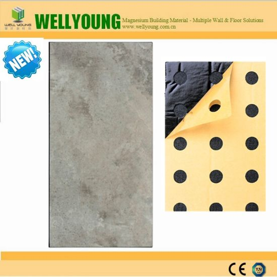 Anti-Slip New Self-Adhesive Faux Marble Sticker Wall Tiles pictures & photos