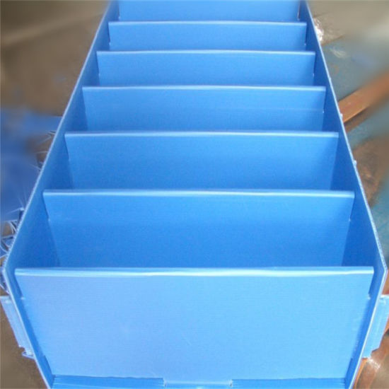 2-12mm PP Corrugated Hollow Sheet with Good Price pictures & photos