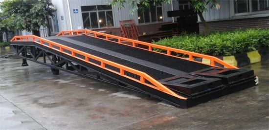 Mobile Yard Ramps with Load Capacity 10 Tons