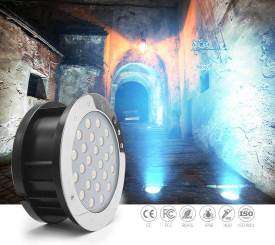 Inground Lighting Round 18W Outdoor LED Underground Lights