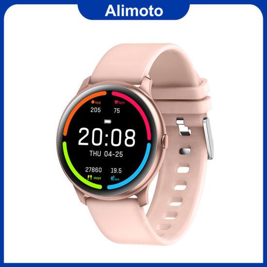 Alimoto Waterproof E-Compass Women Beauty Touch Screen Smart Watch