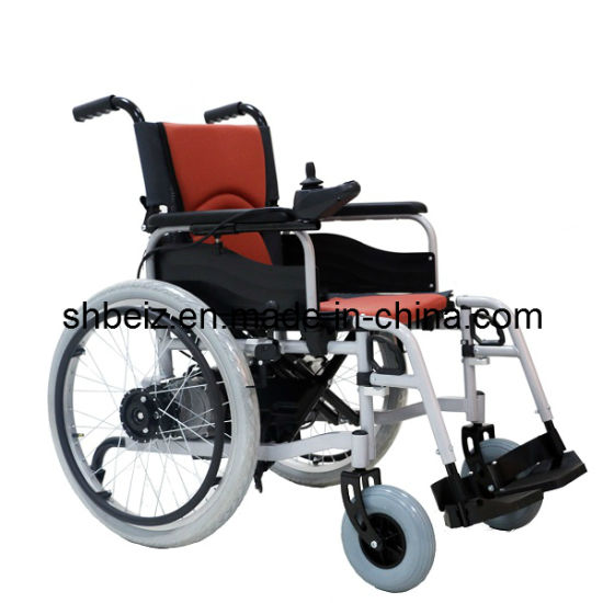 Medical Equipment Power Wheelchair with Manual Mode (Bz-6101)