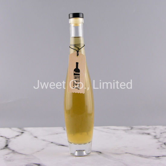 Decorative Glass Bottles Glass Bottle with Cork Lid 300ml