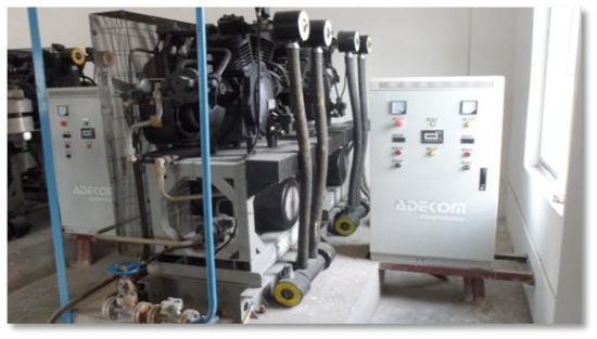 Non-Lubricated High Pressure Piston Reciprocating Air Compressor pictures & photos