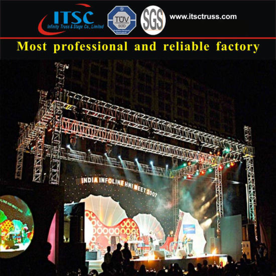 Hot Item Aluminum Truss Mobile Stage System For Lighting