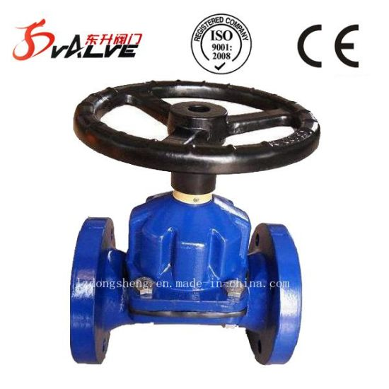 Diaphragm Valves Rubber Coated