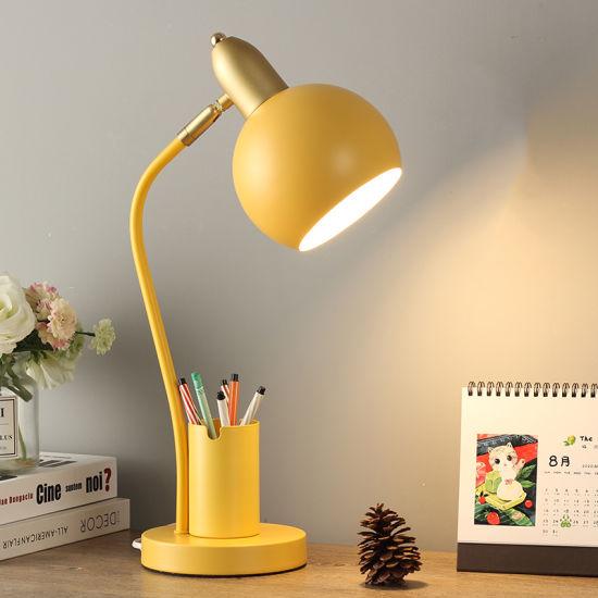 Desk Lamp for Kids Bedroom Bedside Modern Style Indoor Decoration