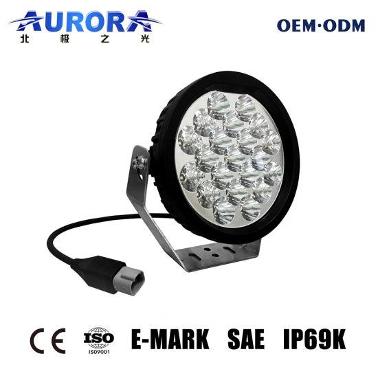 Super Bright LED Driving Light 4X4 LED Spotlight Round 7inch Offroad LED Driving Light Auto LED Light