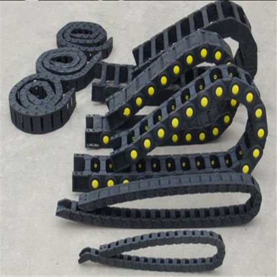 Inner 65*75 65*100 65*125 Semi-Enclosed Type Enclosed Plastic Cable Carrier Towing Chain