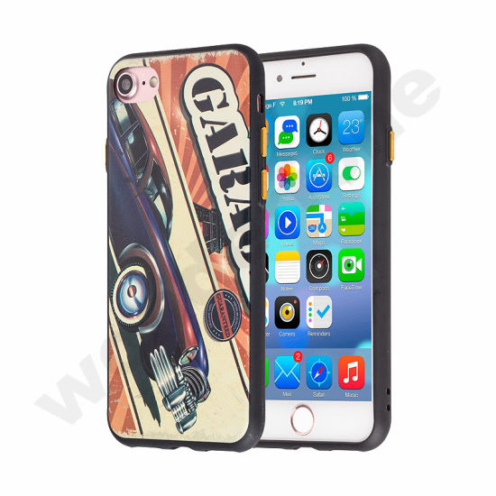 New TPU Back Cover Case 2 in 1 phone Case for iPhone 7