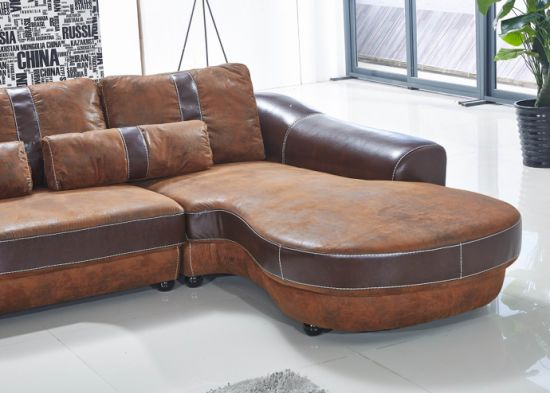 China Modern Pleather Top Grain Leather