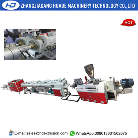 2 Strand PVC Pipe Production Line 16-40mm PVC Pipe Plant Conduit Pipe Machinery