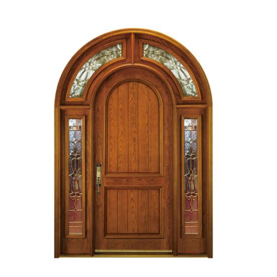 China Factory Price Modern Design Interior Solid Wood Doors China