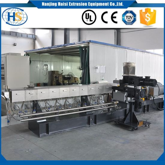 Nanjing China Pet Bottle Recycling Twin Screw Extruder pictures & photos