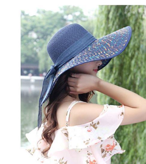 1e97695803f China Summer Beach Straw Floppy Hats - China Straw Floppy Hats ...