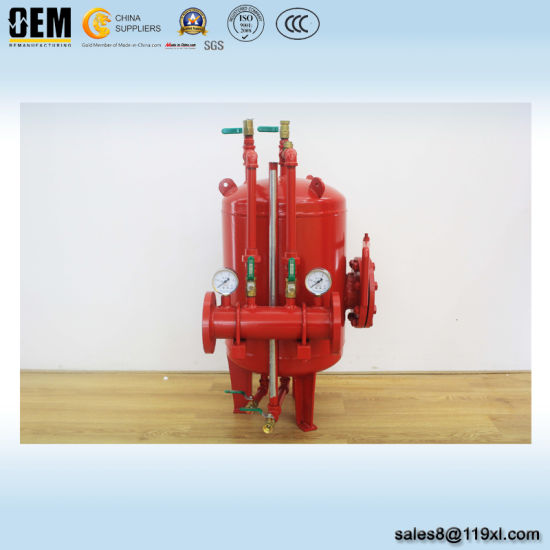 Foam Bladder Tank in Fire Fighting System pictures & photos