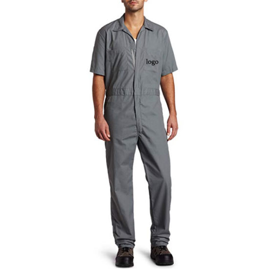 New Men Protective Safety Uniform Overalls Work Suit