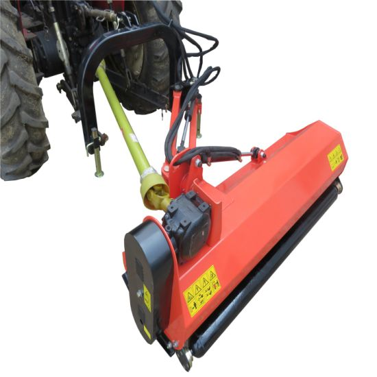 Farm Machinery Small Tractor Side 3 Point Pto Hydraulic Verge Mulcher Flail Mower