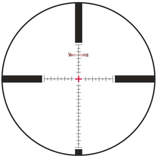 Vector Optics Counterpunch Tactical 6-25X56 First Focal Plane Rifle Scope with Mps Reticle Side Focus 1/10 Mil Low Profile for Real Firearms Hunting pictures & photos